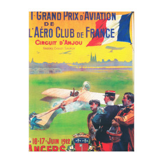 First Aviation Grand Prix Canvas Print