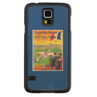First Aviation Grand Prix Carved Maple Galaxy S5 Case