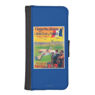First Aviation Grand Prix iPhone SE/5/5s Wallet Case