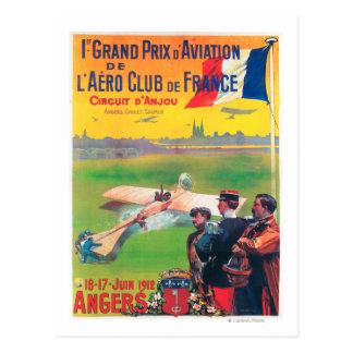 First Aviation Grand Prix Postcard