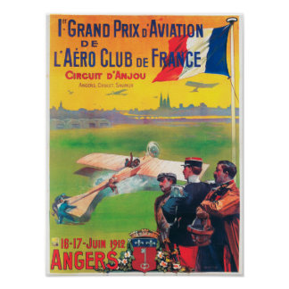 First Aviation Grand Prix Poster
