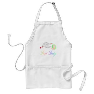 First Baby Stork Aprons
