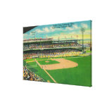 First Base Bleachers View of Crosley Field Canvas Print