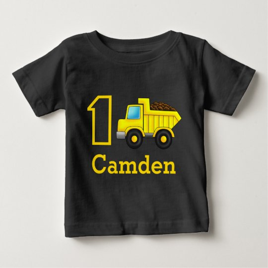 First Birthday 1st 2nd 3rd Construction Truck Car