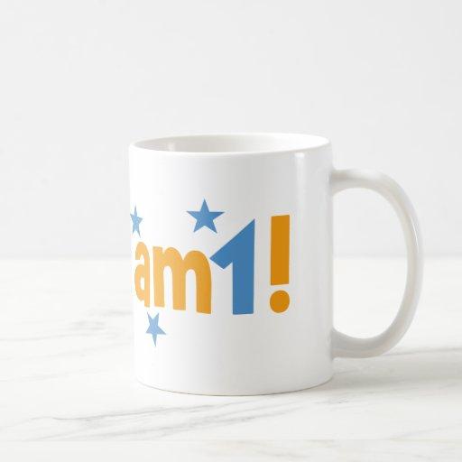 first birthday basic white mug
