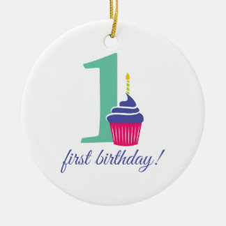 First Birthday! Christmas Ornament