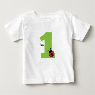 First Birthday, I'm One, Cute ladybug T-shirts