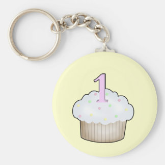 First Birthday Keychains
