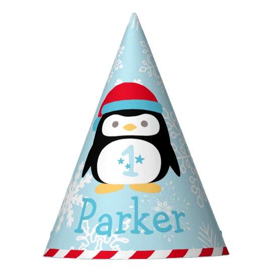 First Birthday Party Hat | Winter ONEderland
