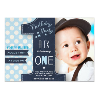 Shop Zazzle's selection of boys birthday invitations for your party!