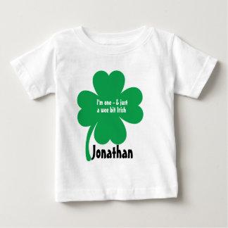 First Birthday St. Patricks Day Birthday Tee Shirt