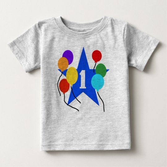First Birthday Star Baby T-Shirt