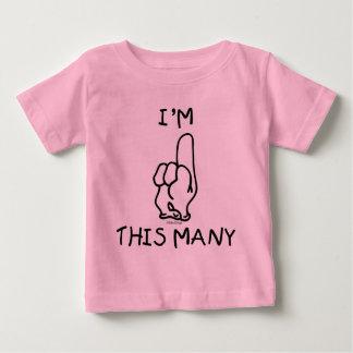 First Birthday T Shirt
