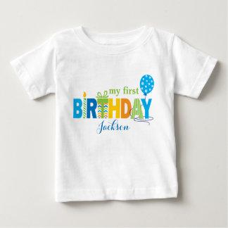 First Birthday Tshirt Personalised