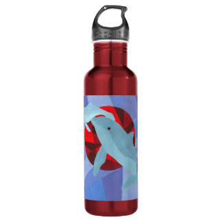 First Breath - Dolphins 710 Ml Water Bottle