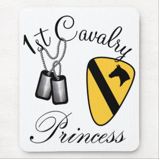 First Cavalry Princess Mouse Pad