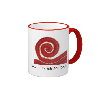 First Chakra Art 1 Physical Body Issues Coffee Mug