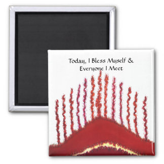 First Chakra Art: #3: Money Issues Refrigerator Magnets