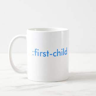:first-child (It's a boy!) Coffee Mug