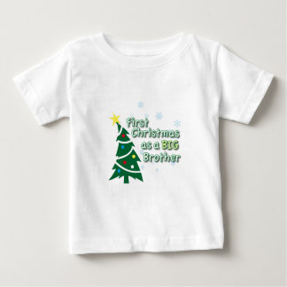 First Christmas as a BIG Brother Baby T-Shirt
