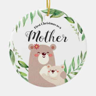 First Christmas as a Mother Ornament