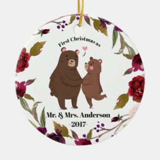 First Christmas as Newlywed Ornament