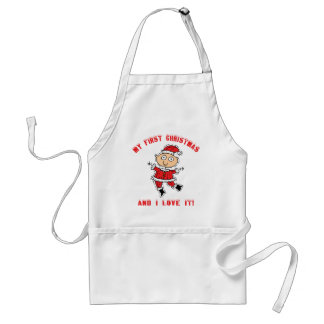 First Christmas Baby Gift Apron
