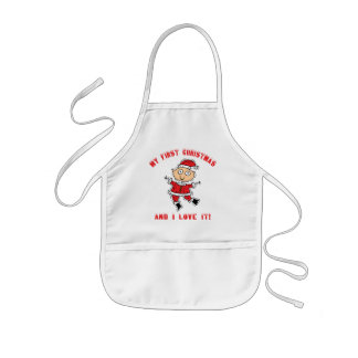 First Christmas Baby Gift Kids Apron