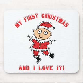 First Christmas Baby Gift Mouse Pads