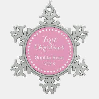 First Christmas Baby Keepsake Holiday Ornament