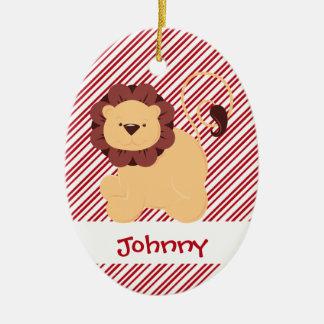 First Christmas Baby Lion Custom Christmas Ornament