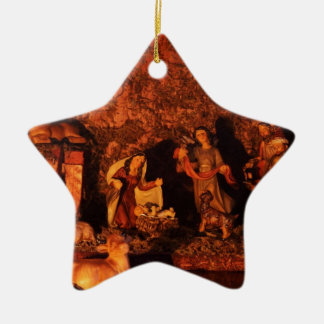 FIRST CHRISTMAS CERAMIC STAR DECORATION