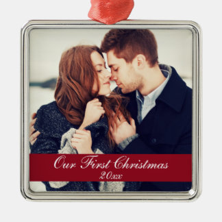 First Christmas Couple Ornament Year S