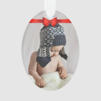 First Christmas Custom Photo Ornament