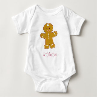 First Christmas Gingerbread Tee