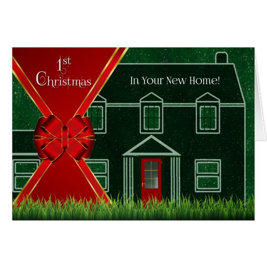 First Christmas in Your New Home - Red