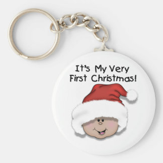 First Christmas Latino Baby Tshirts and Gifts Keychains