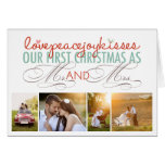 First Christmas Mr. & Mrs. Holiday Photo Greetings