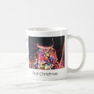 First Christmas Mug with Original Art Print