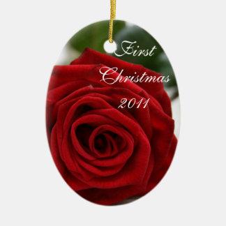 First Christmas/Photo Christmas Ornament