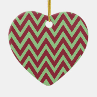 First Christmas together chevron Christmas Ornament