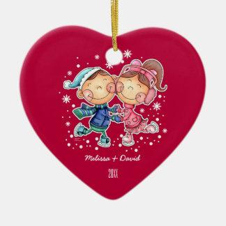 First Christmas Together.Custom Christmas Ornament