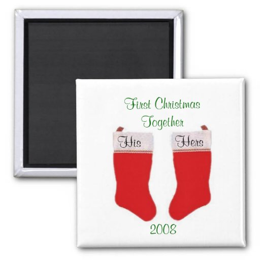 First Christmas Together Magnet