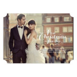 First Christmas Together Married Holiday Greetings