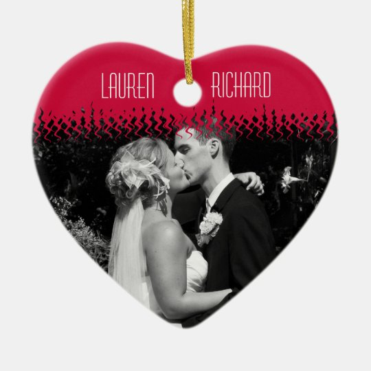 First Christmas together - Wedding Remembrance Christmas Ornament