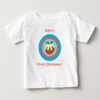 First Christmas Xmas Pud T Shirt