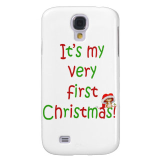 First Chrsistmas Samsung Galaxy S4 Case