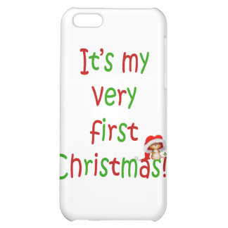 First Chrsistmas iPhone 5C Cover