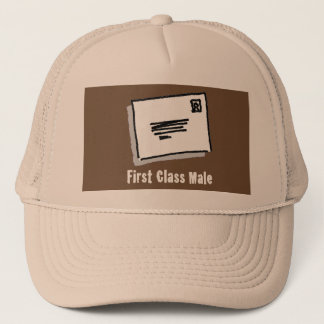 First Class Male Trucker Hat