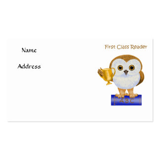 First Class Reader Double-Sided Standard Business Cards (Pack Of 100)